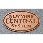 Cherry Wood NYCS Oval Plaque